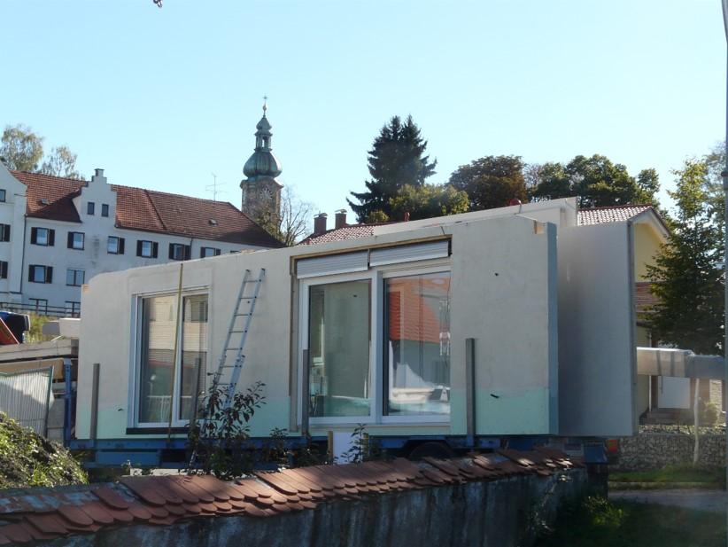 Projekt Kloserwiese - Bauphase