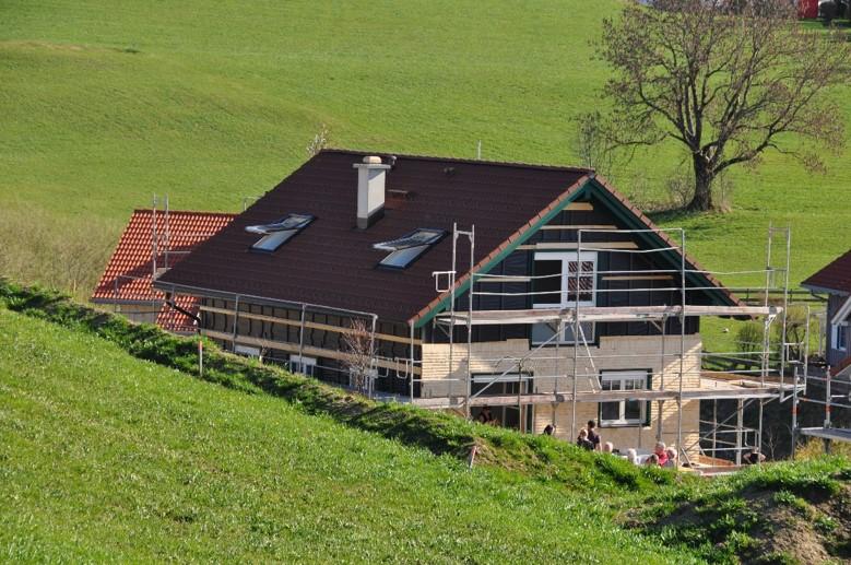 Projekt Kimratshofen - Bauphase