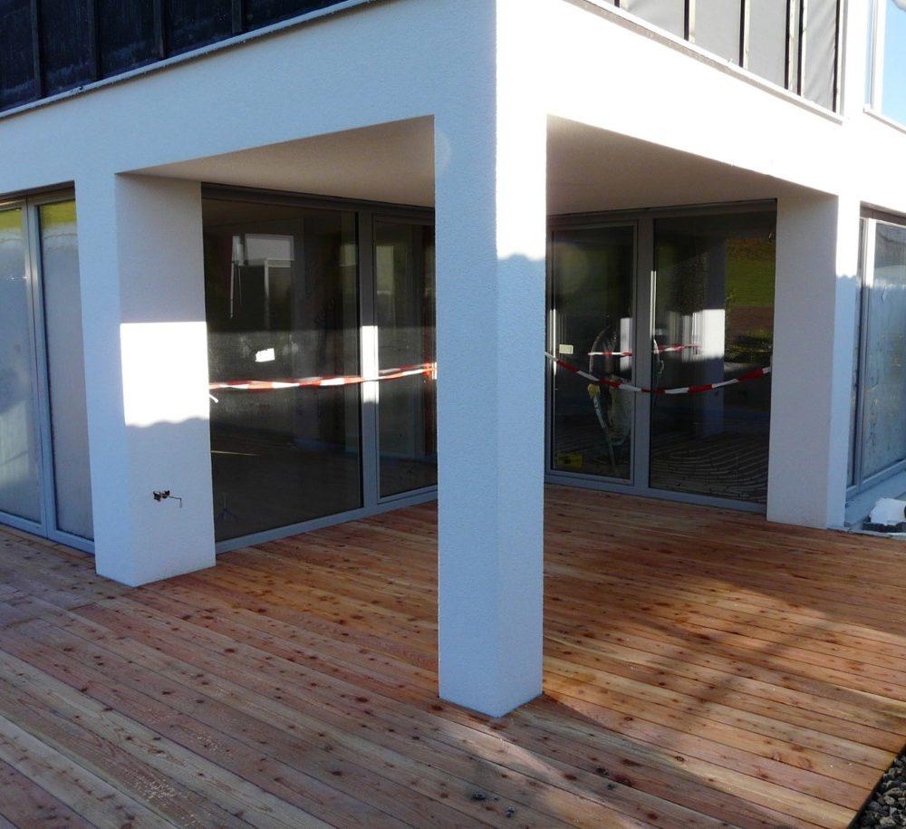 Projekt Martinszell - Terrasse